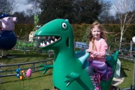 Mr Dinosaur ride