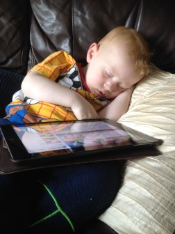 Too tired for the iPad