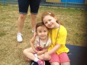 Amélie and her best friend