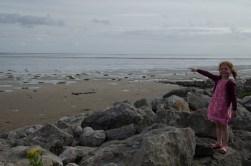 The sea at Flookburgh