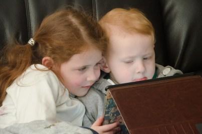 Watching the iPad