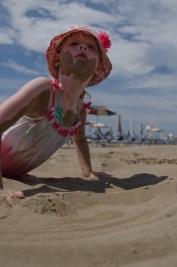 A little sandy
