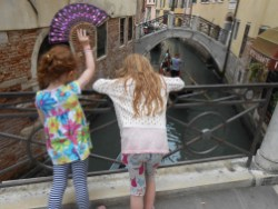 Wave to the Gondoliers