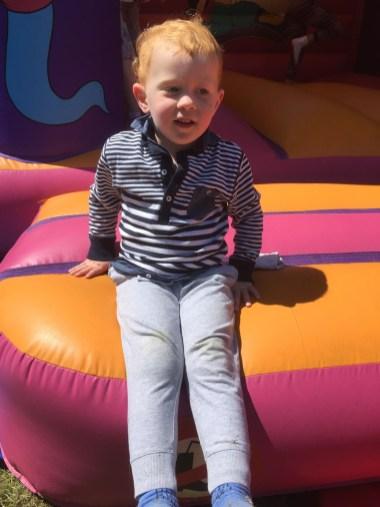 Bouncy castle fun