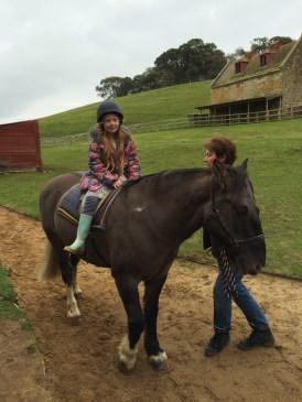 Éowyn on a horse