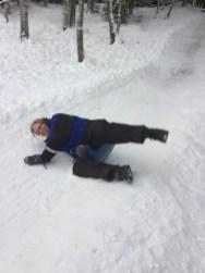 Mommy sledging III
