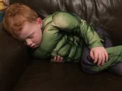 A tired hulk