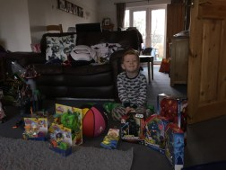 The boy and his presents