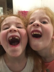 Gappy sisters!