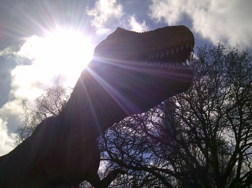 T Rex in the Sun