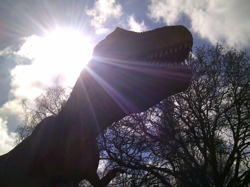 T Rex in the Sun