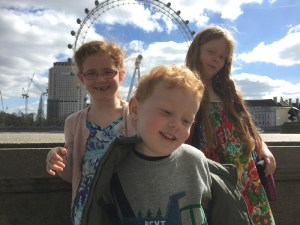 The Baguettes and the London Eye