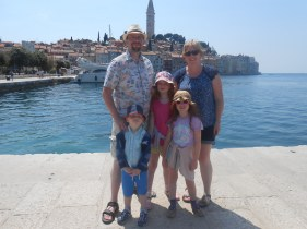 The Bagnalls and Rovinj
