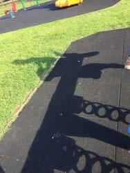 Ezra's shadow