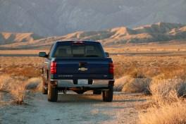 Chevrolet Silverado at dawn