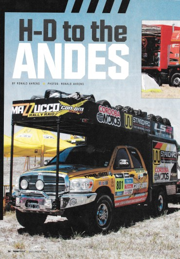 H-D to Andes 01