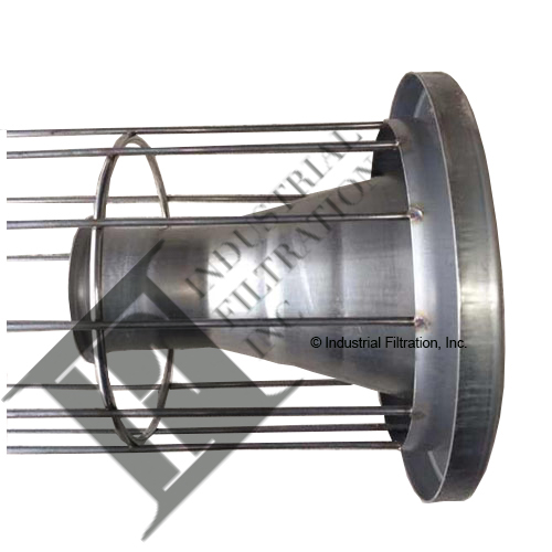 C&W B0005 – 6 x 10′ Filter Cage with Venturi for BP Baghouse