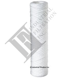 Mefiag Sethco String Wound Polypropylene Filter Cartridge 901-10CP25PA