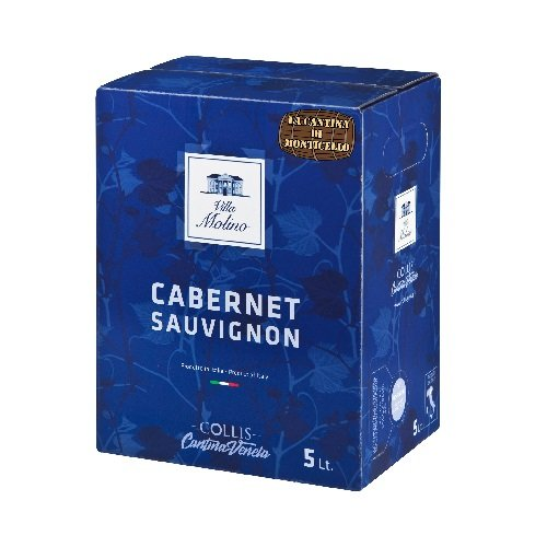 Bag in Box Cabernet Sauvignon Villa Molino 5L