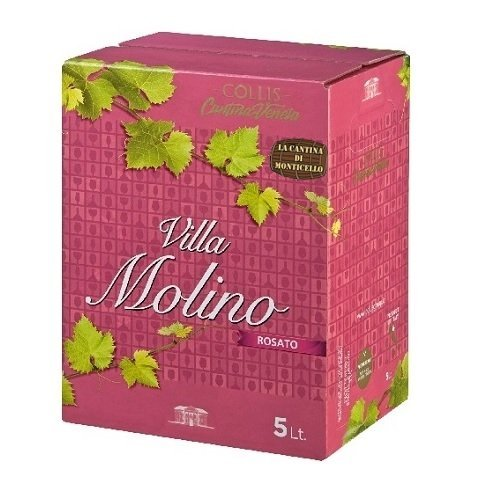 bag in box villa molino rosato veronese 5L fb