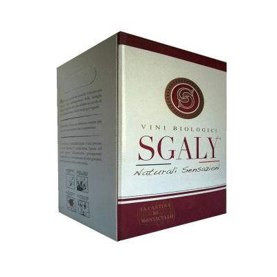 Bag in Box vino rosso Marche Biologico