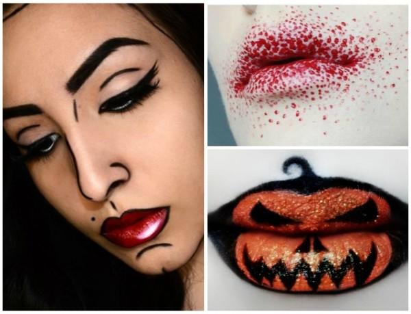 Страшный макияж на Хэллоуин. Макияж для Хэллоуина ...