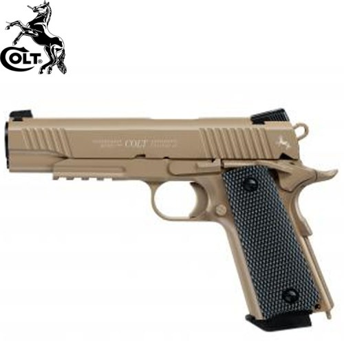 Umarex Colt M45 CQBE FDE CO2 BB Blow Back Air Pistol