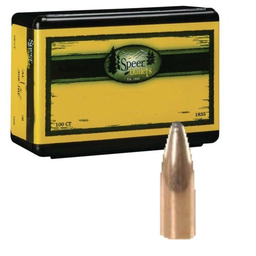 100 Speer  22 ( 224″) 55gr SP Bullet Heads 1047