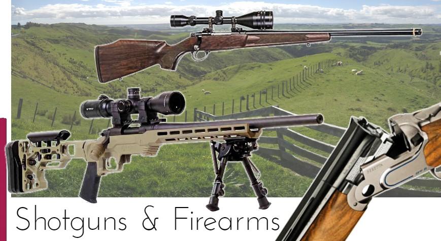 Shotguns & Firearms