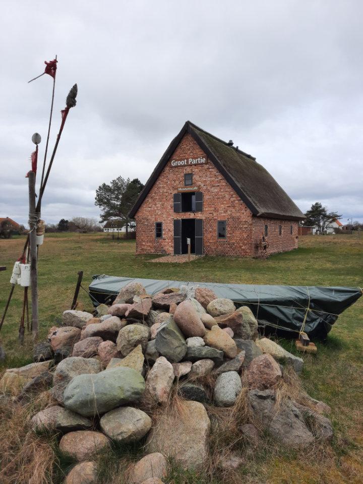 Groot Partie, Fischereimuseum Neuendorf, Hiddensee
