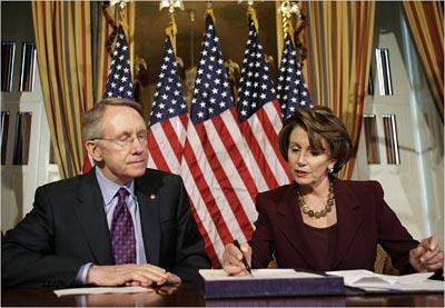 Harry Reid y Nancy Pelosi