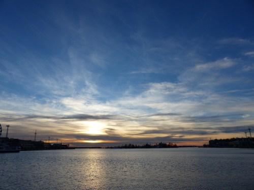 Helsinki sunrise