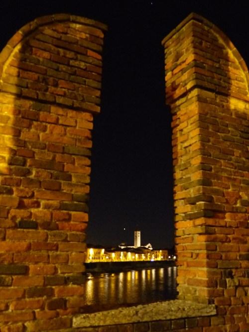 Verona at night