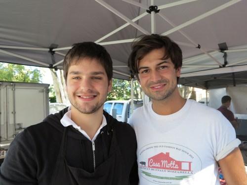 Mr Motta and Lorenzo