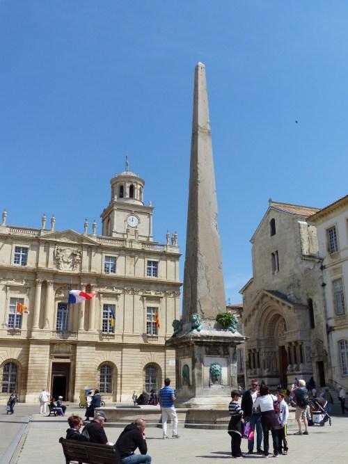 Place de la Republique Arles