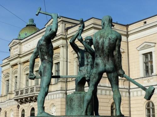 Naked blacksmiths Helsinki