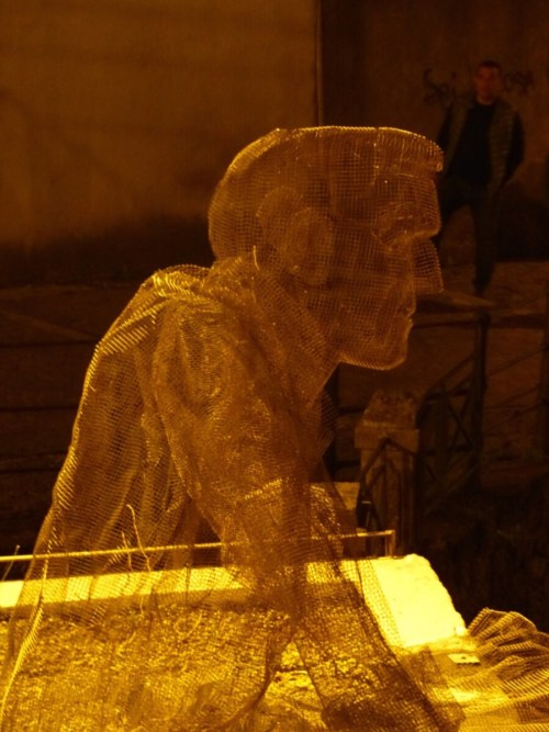 Chicken wire chap Pizzo