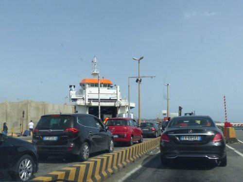Ferry to Sicily
