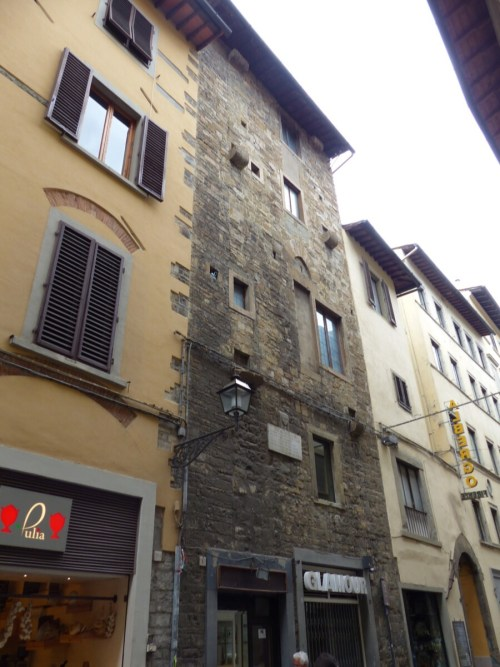Florence tower house