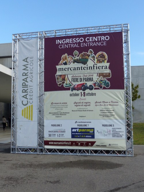 Vintage fair Parma