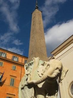 Rome Bernini's elephant