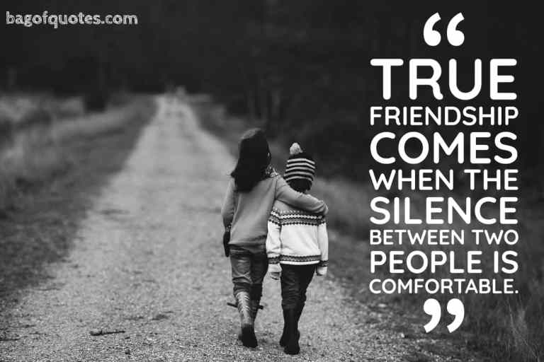 Friend Quotes In English