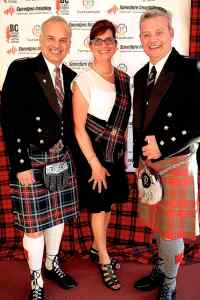 BC Highland Games 2016. Coquitlam Mayor Richard, and Anna Rosa Stewart, Mike Chisholm. Chair