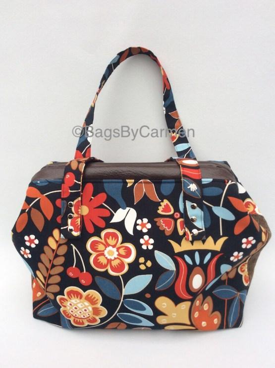 Flower Print Handbag_Front
