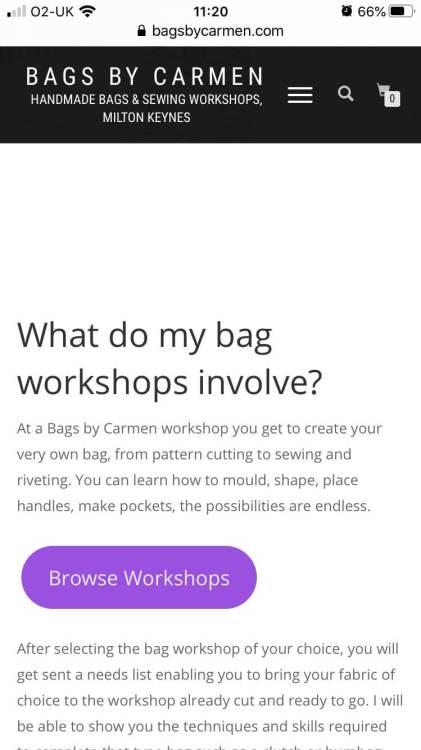 Mobile browse workshops