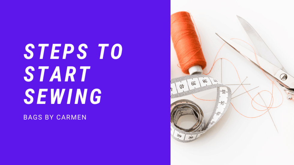 Steps to start sewing