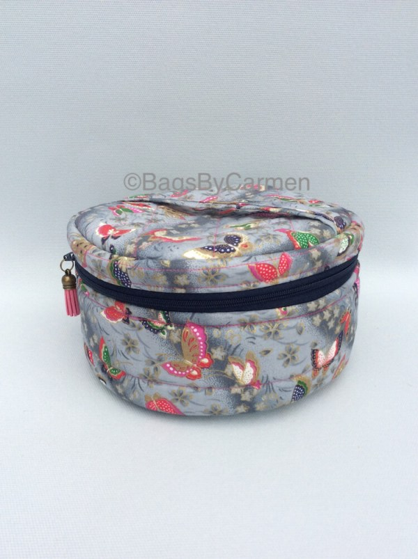 Sewing Workshop October | Circle Makeup Bag_Front
