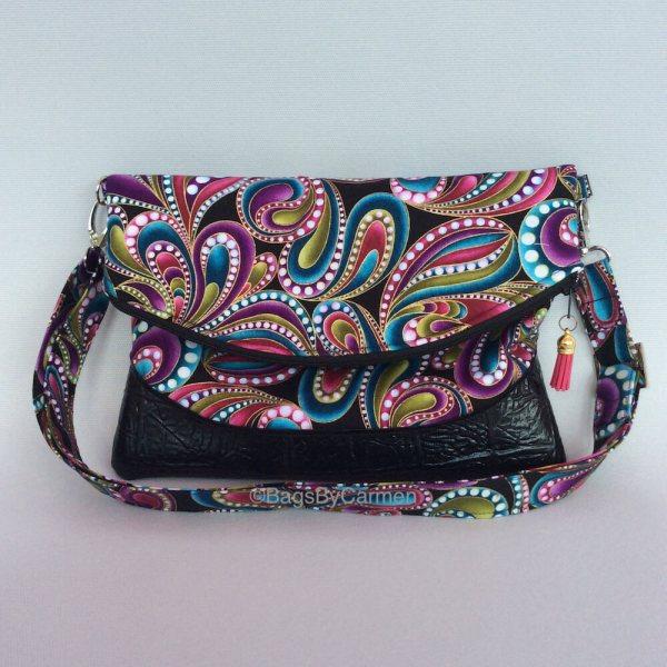 Sewing Workshop Online August Clutch-Shoulder Bag_Front