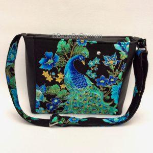 Shoulder Bag – Peacock Black