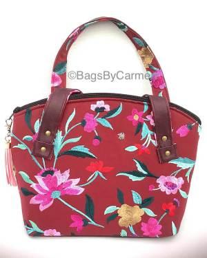 Handbag – Pink Floral_Front